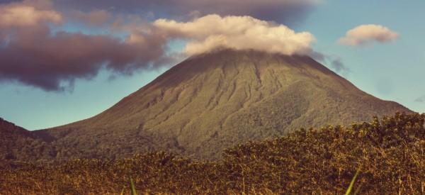 Scenic Arenal volcano in Costa Rica, Central America
