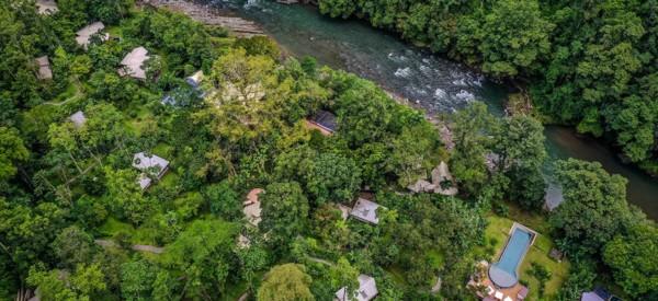 Costa Rica - Pacuare Lodge - Blick von oben