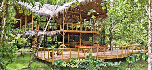 Restaurant - Pacuare Lodge Fluss- Costa Rica