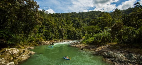 Fluss raften - Pacuare Lodge Fluss- Costa Rica
