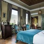 Marokko - Kasbah Tamadot - Blaues Zimmer
