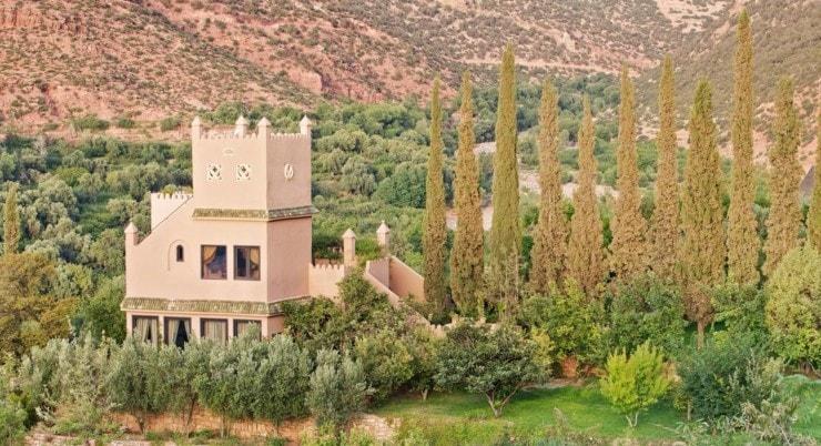 Marokko - Kasbah Tamadot - Außenansicht