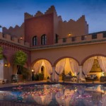 Marokko - Kasbah Tamadot -Pool