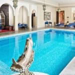 Marokko - Kasbah Tamadot - Pool