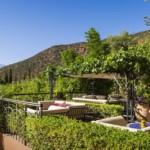 Marokko - Kasbah Tamadot - Außen Terrasse