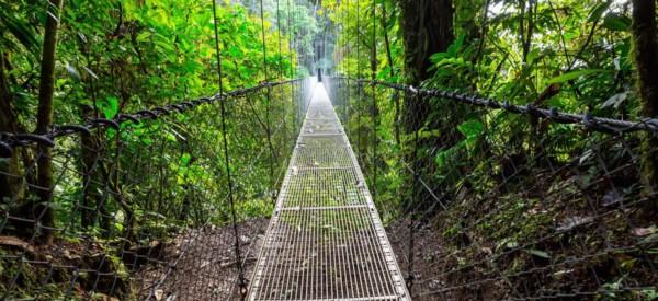 Radermacher Reisen - Hängebrücke - Costa Rica