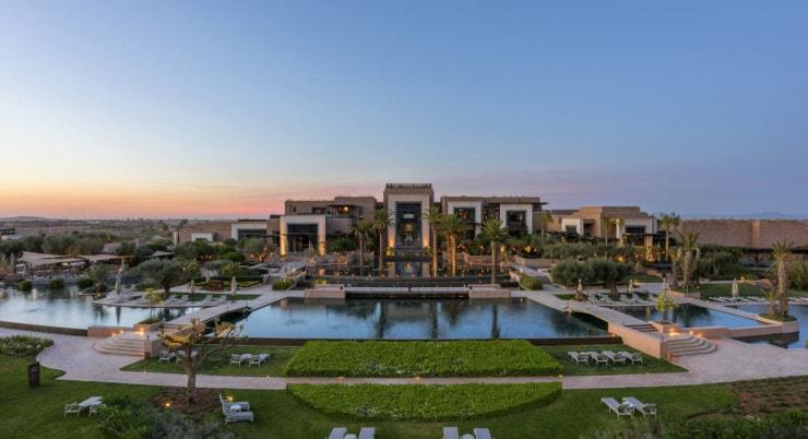 Marokko - Royal Palm Hotel - Außenansicht