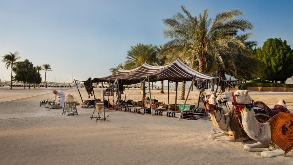 Emirates Palace - wüste