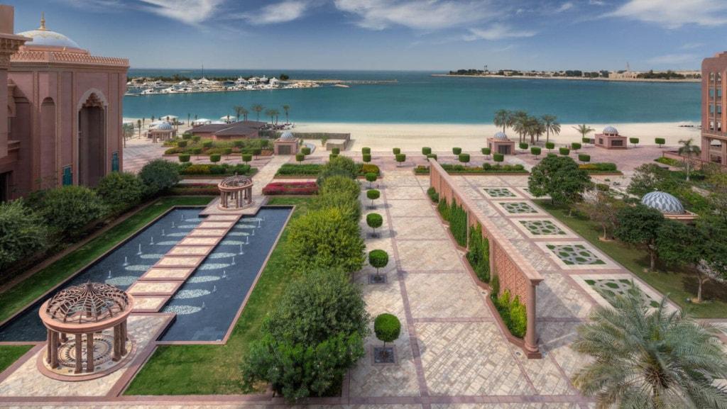 Emirates Palace - strand