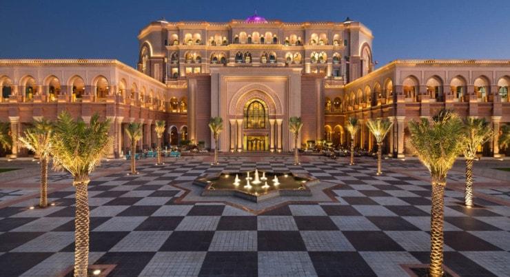 Emirates Palace - außen 4