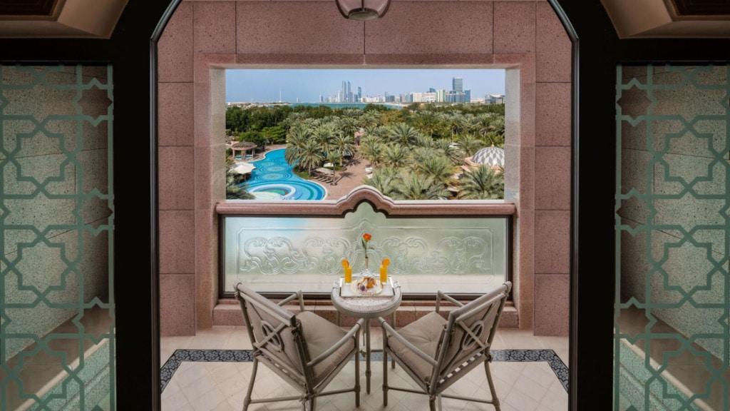 Emirates Palace - balkon