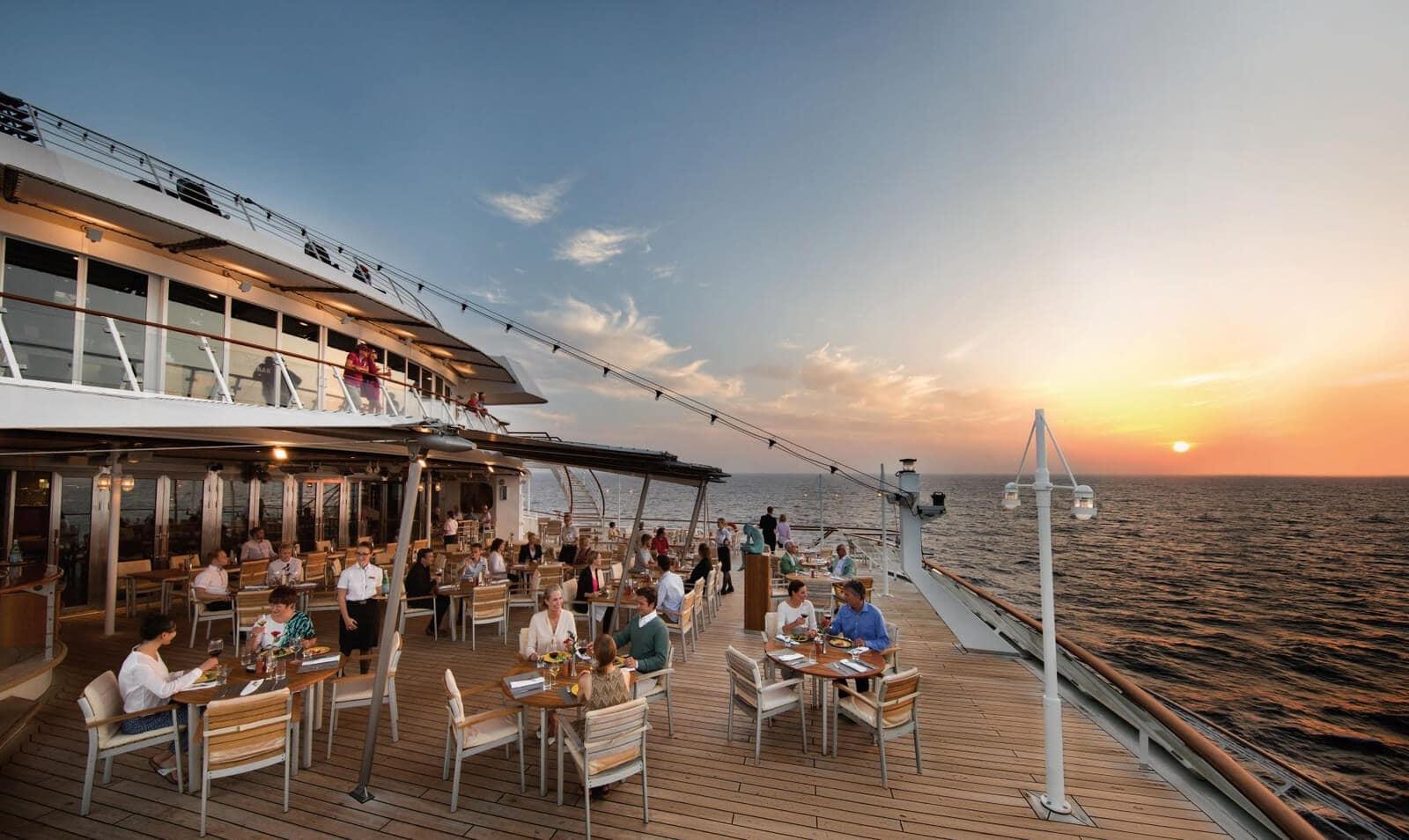 MS Europa - deck