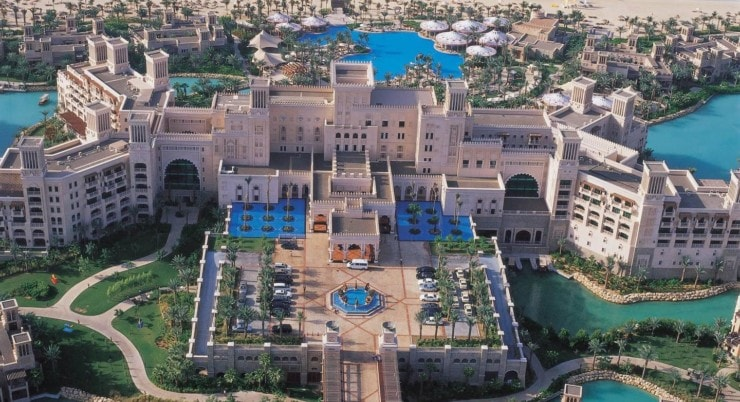 Jumeirah Al Qasr - von oben