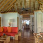 Gili Lankanfushi - Familienvilla Wohnzimmer