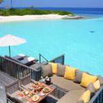 Gili Lankanfushi - Familienvilla Außenbereich