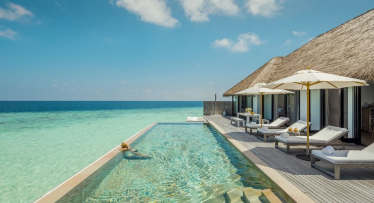 Como Maalifushi - privater pool