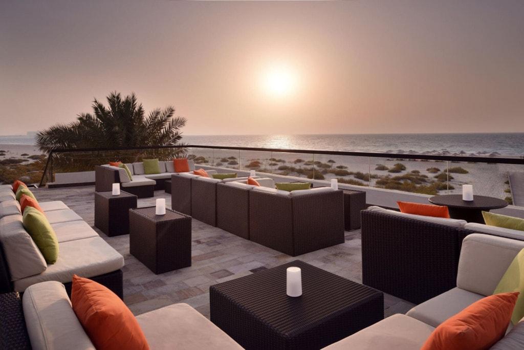 Park Hyatt Dubai - strandbar