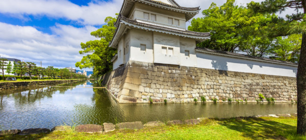 Tokyo Imperal Palace and water canal. Japan, Asia