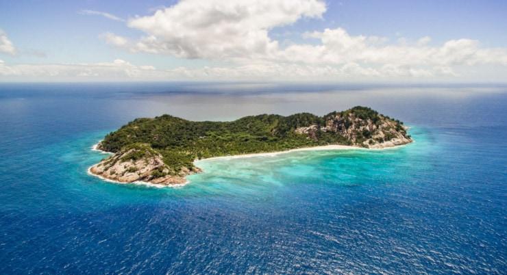 North Island - Insel von oben