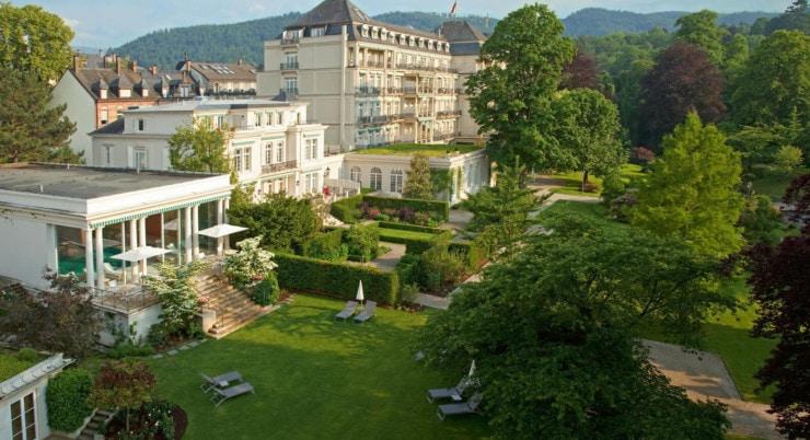 Brenners Park-Hotel & Spa - Außenansicht