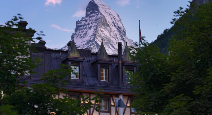 Mont Cervin Palace - Berg