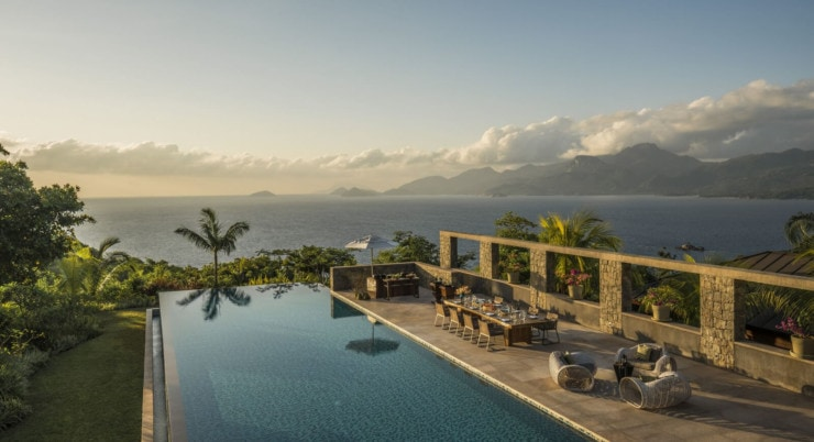 Four Seasons Resort Mahé Seychelles - pool