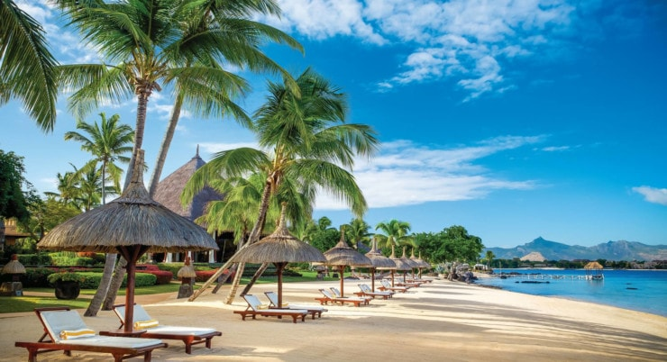 The Oberoi Mauritius - langer strand