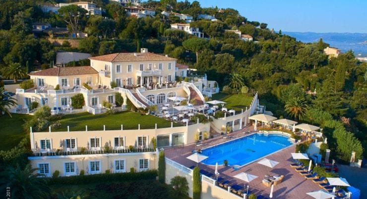 Villa Belrose - von außen