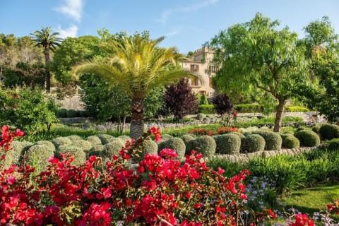 Son Claret - Garten
