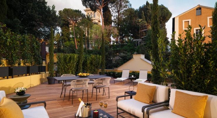 Hotel Eden - terrasse