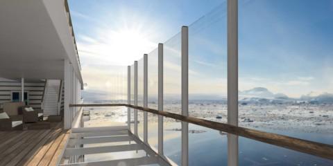 HANSEATIC Expeditions - Schiffe - großer balkon