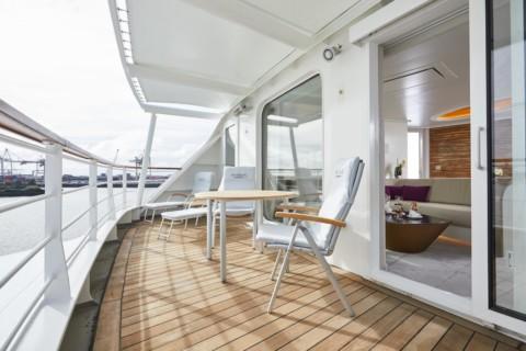 HANSEATIC Expeditions - Schiffe - balkon