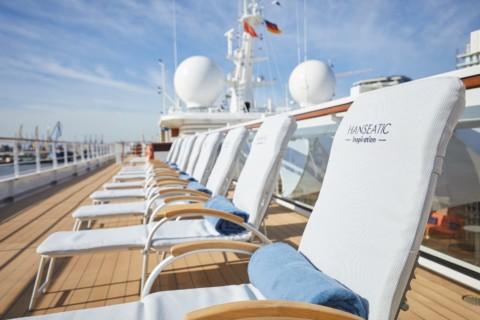 HANSEATIC Expeditions - Schiffe - Deck