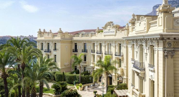 Hôtel Hermitage Monte-Carlo - außen
