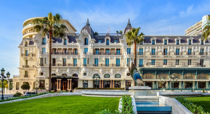 Hôtel De Paris Monte-Carlo - außen 3