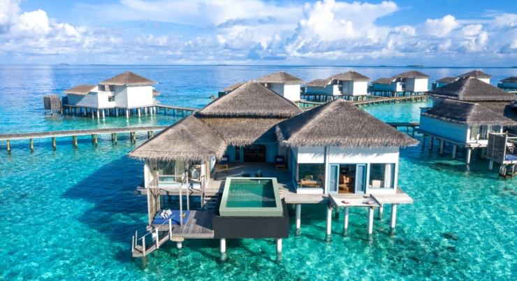 Raffles Maldives Meradhoo - Wasservillen