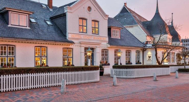 Hotel Stadt Hamburg Sylt - Außenansicht