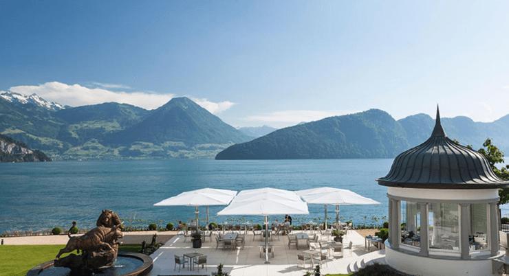 Park Hotel Vitznau - Terasse