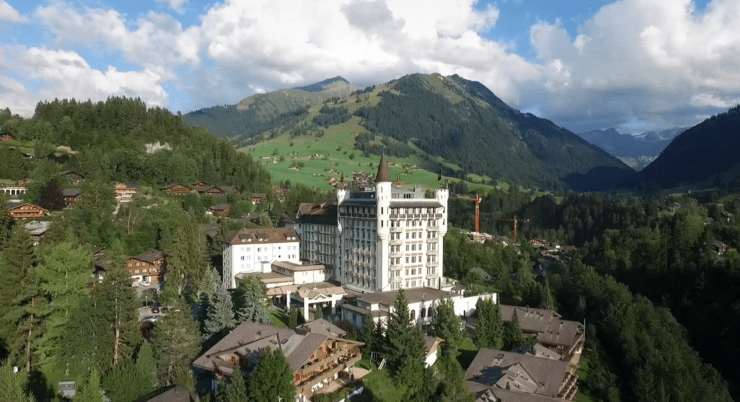 Gstaad Palace - Außenansicht