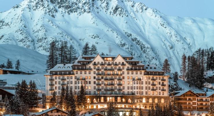 Carlton Hotel St. Moritz - Außen