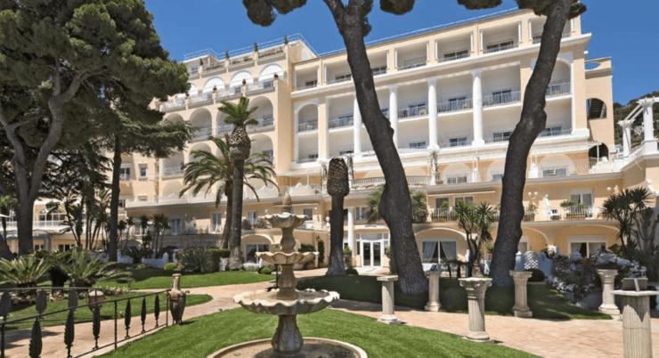 Grand Hotel Quisisana - Außen