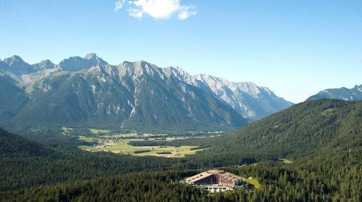 Interalpen Hotel Tyrol - Außen