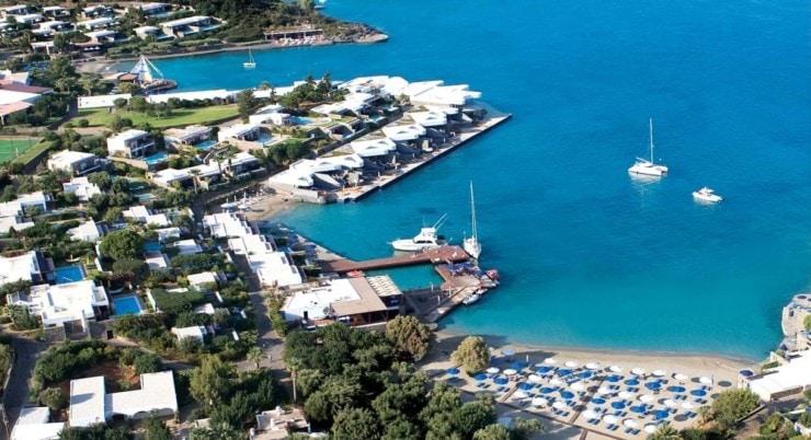 Elounda Beach Hotel & Villas - von oben 2
