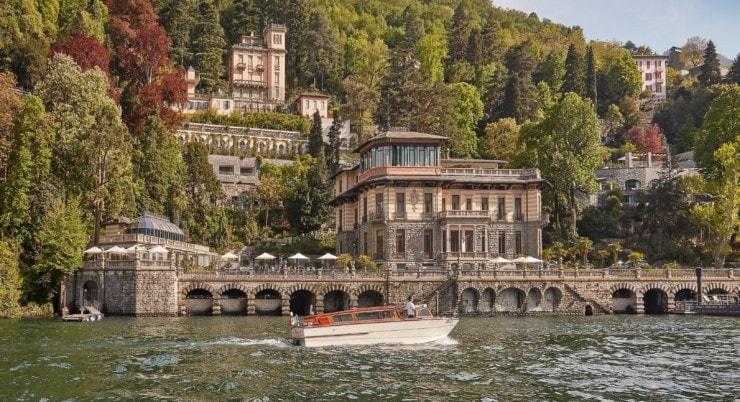 Mandarin Oriental, Lago di Como - von außen