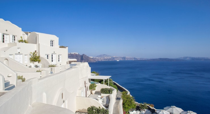 Canaves Oia Luxury Suites - außen