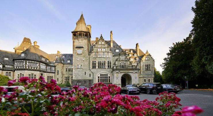 Schlosshotel Kronberg - außen