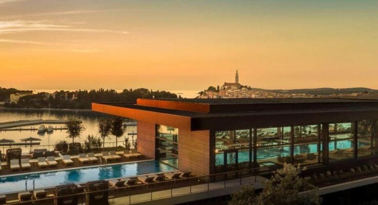 Grand Park Hotel Rovinj - Außen 4