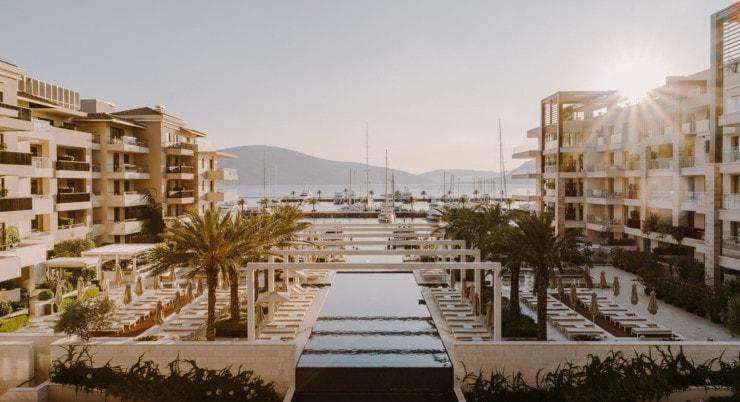 Regent Porto Montenegro - pool 3