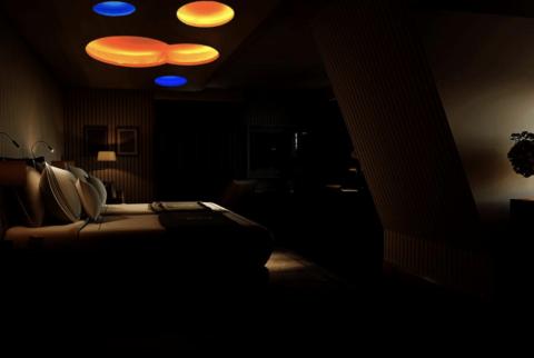Chenot Palace - dark room