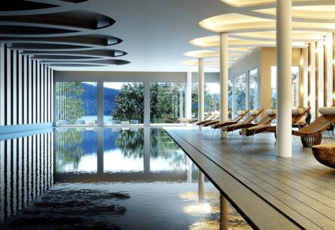 Chenot Palace - pool